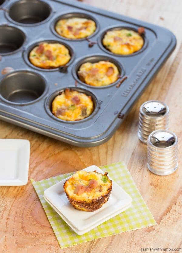 Cheesy Crustless Quiche Recipe — Dishmaps