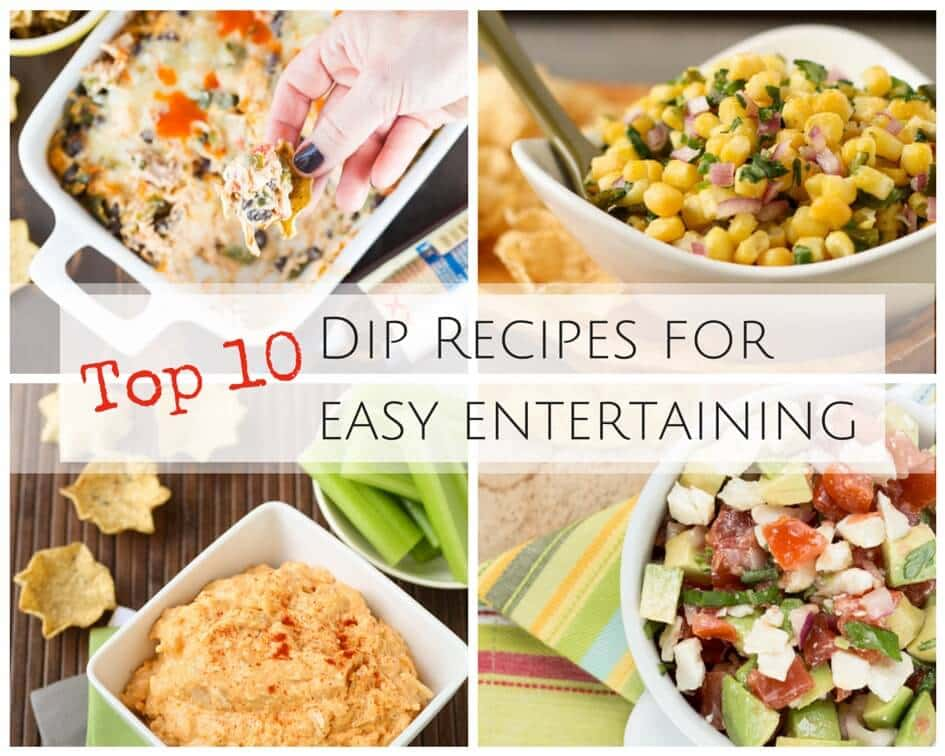 Top 10 Dip Recipes for Easy Entertaining - Garnish with Lemon