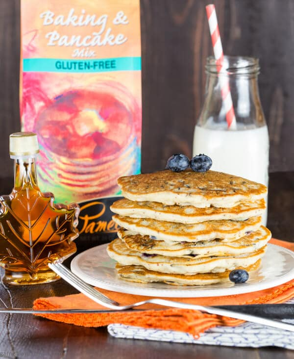 ... brunch menu with these Minnesota Blueberry and Wild Rice Pancakes
