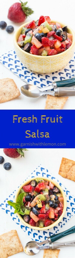 Fresh Fruit Salsa is the perfect dessert choice for your next ...