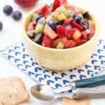 Fruit Salsa with Cinnamon Chips (1 of 2)