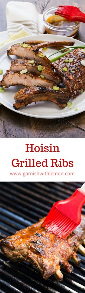 Ribs are a perennial crowd pleaser. These Hoisin Grilled Ribs give an old favorite an Asian flavored spin that is sure to earn even more fans