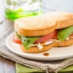 Tomato and Goat Cheese Sandwich 1 of 2