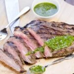 Flank Steak with Chimichurri Sauce 2015 (1 of 2)