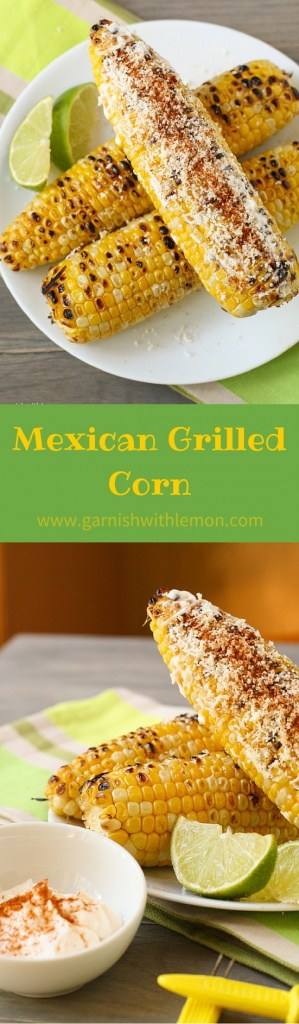 Mexican Grilled Corn Recipe: Mexican Grilled Corn is a spicy, tangy take on a popular Mexican street food.