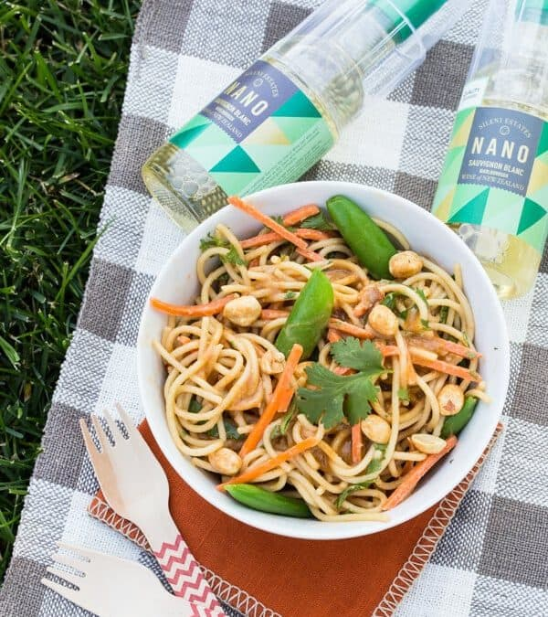 Sweet and Spicy Peanut Noodle Salad
