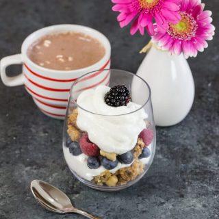 Yogurt and Granola Parfaits