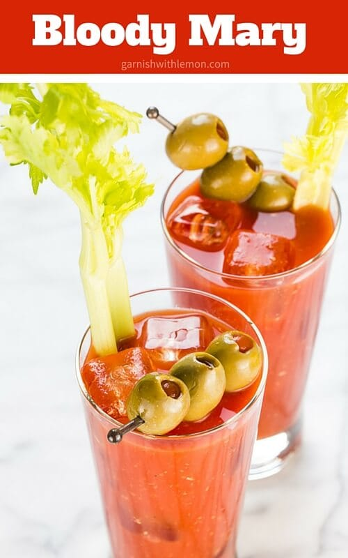 A fabulous Bloody Mary recipe made from scratch. Perfect for tailgating and Sunday brunch.