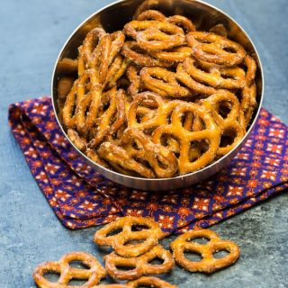 Spicy Ranch Pretzels