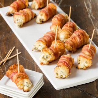 Bacon Cream Cheese Bites