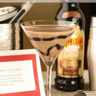 How to Set Up a DIY Martini Bar