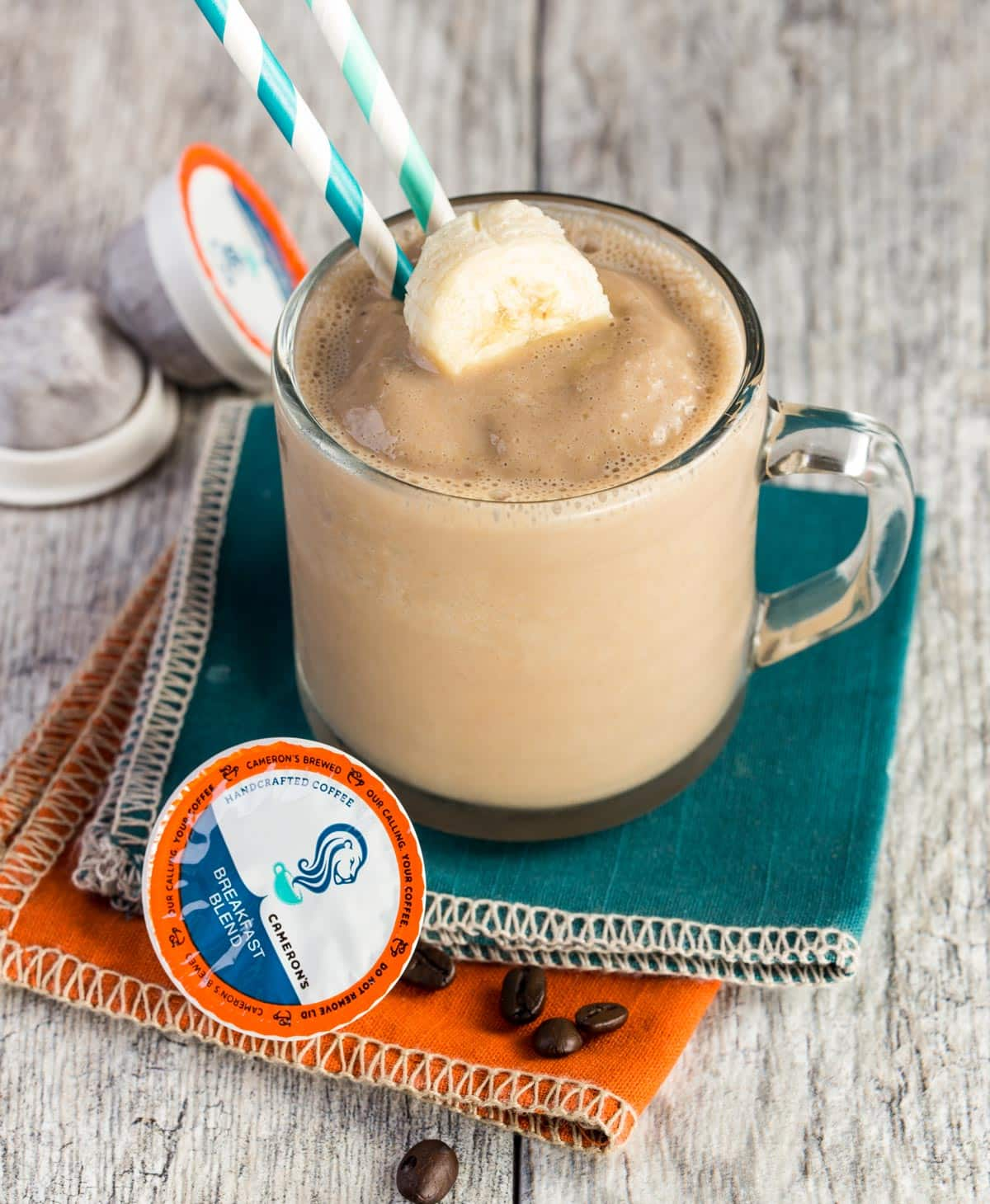 Packed with protein and full of coffee flavor, this Easy Coffee Smoothie recipe makes breakfast a snap.