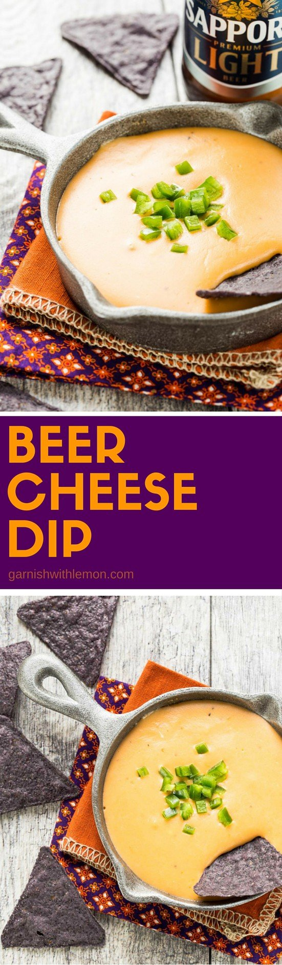 Who can say no to this cheese goodness? This easy Beer Cheese Dip recipe is one of my favorites!