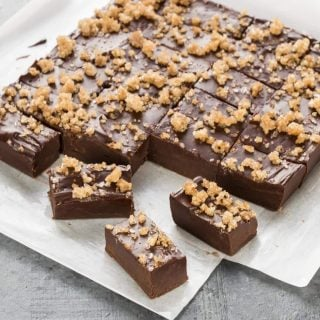 Chocolate Bourbon Fudge (1 of 2)