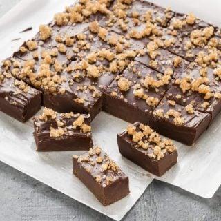 Dark Chocolate Bourbon Fudge