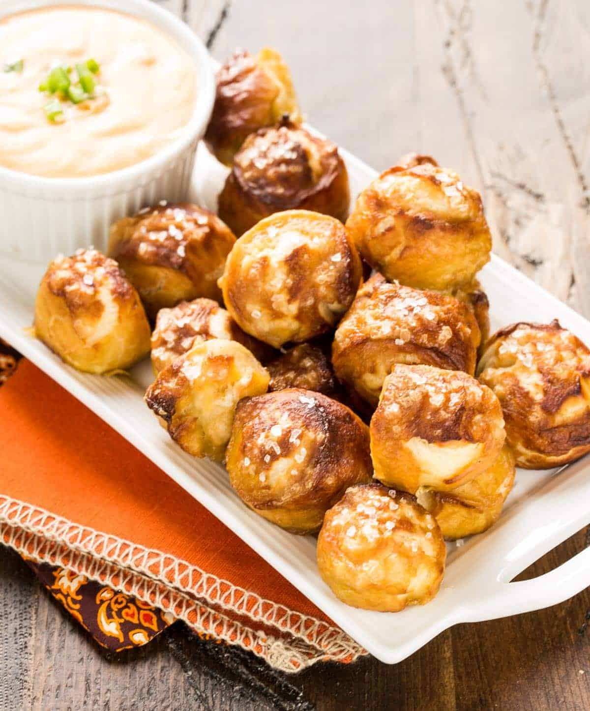 Soft Pretzel Bites Recipe — Dishmaps