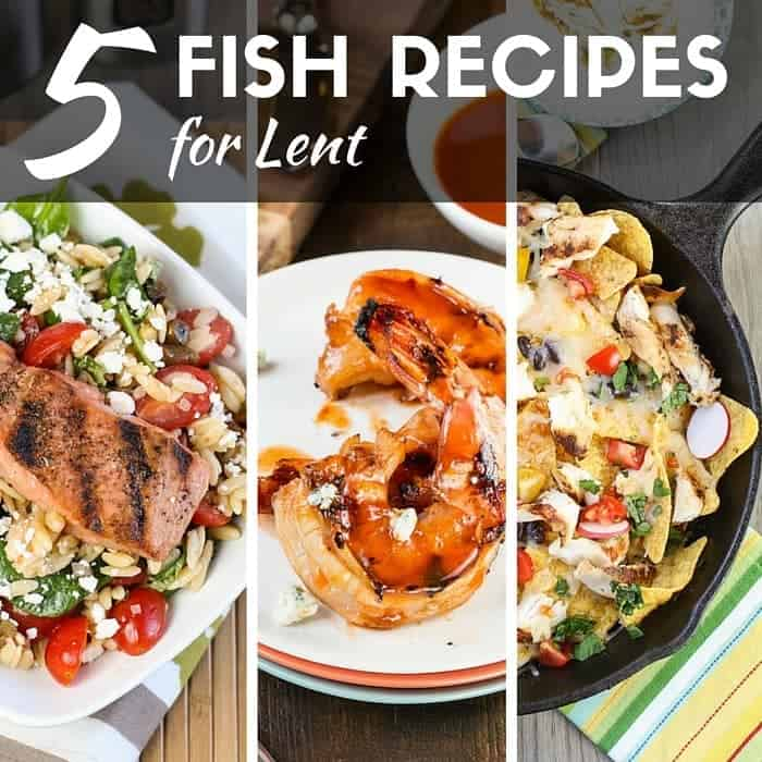 No meat on Fridays? Don't miss our 5 Easy Fish Recipes for Lent that are full of flavor and variety!
