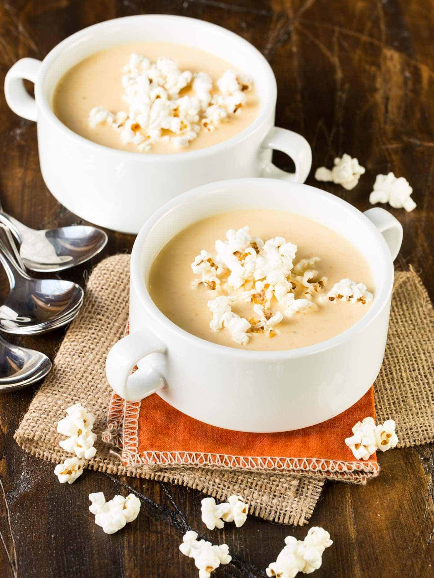 Smooth, silky and full of cheddar cheese, this easy Beer Cheese Soup is your new go-to recipe!