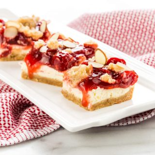 Cherry Almond Cream Cheese Bars