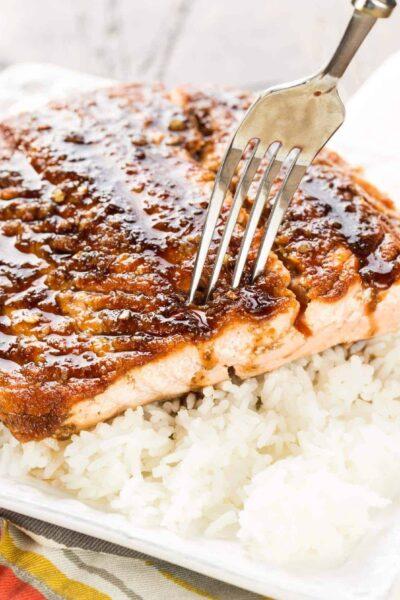 Maple Ginger Salmon