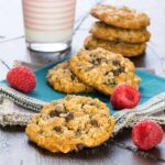 Filled with protein and still tastes delicious, this Oatmeal Breakfast Cookie is the perfect way to get anyone to start their day off right!