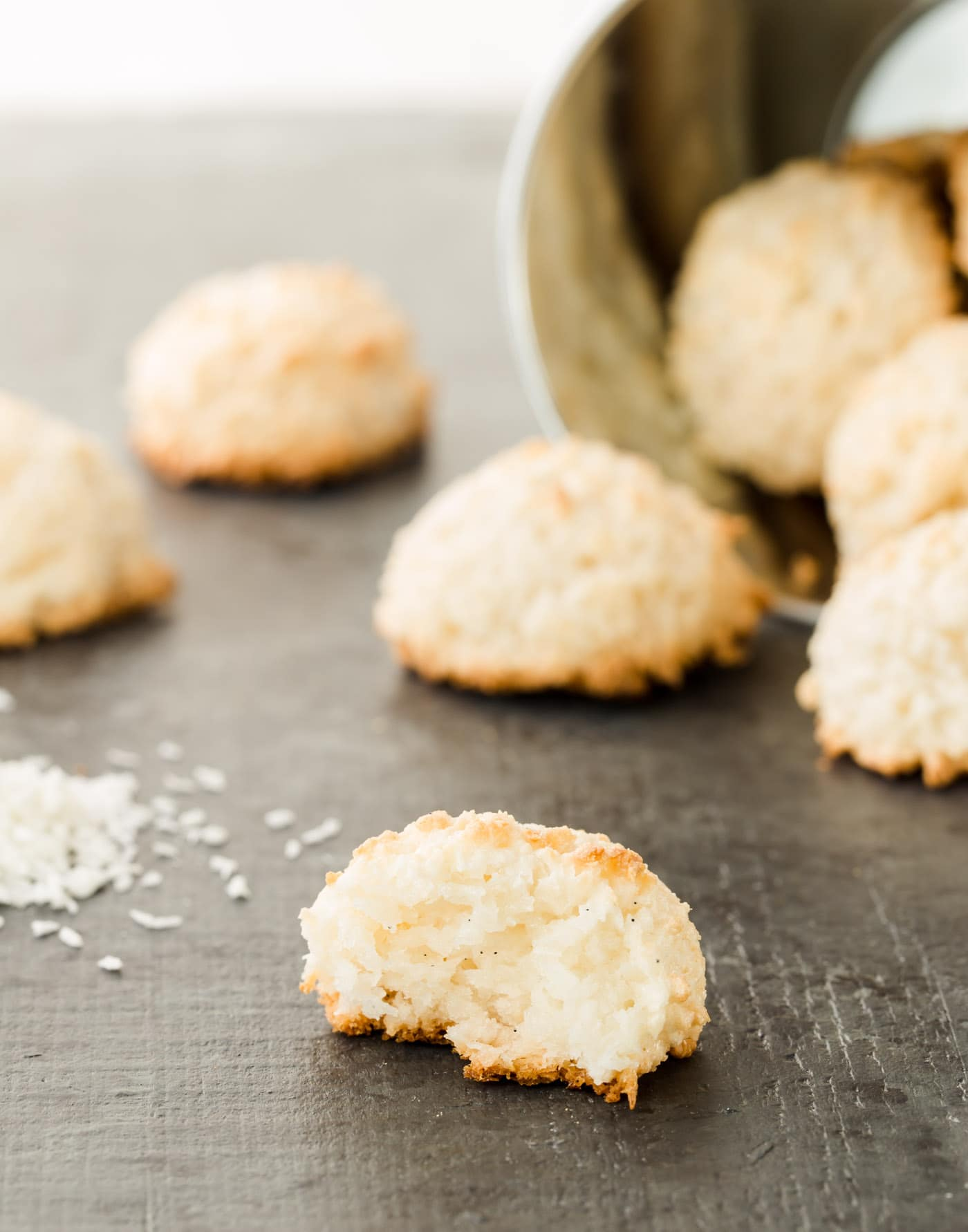 Coconut Macaroons (made With Desiccated, Unsweetened ...
