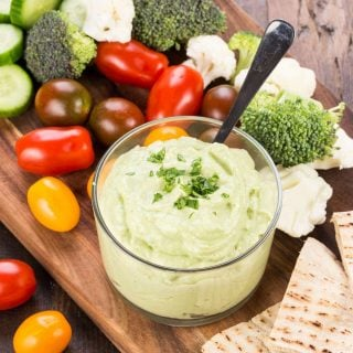 Avocado Cumin Yogurt Dip
