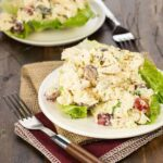 This quick and easy Curried Chicken Salad is a family favorite for busy nights on the run!
