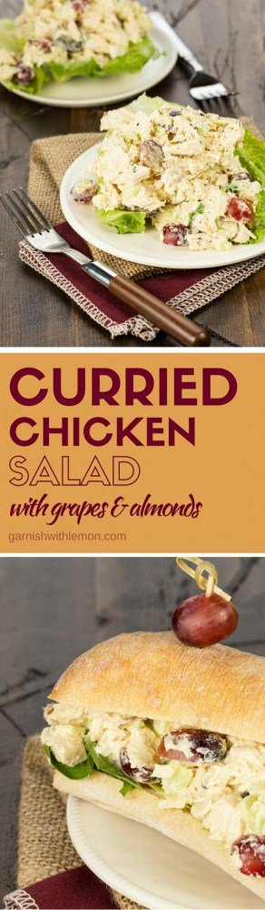 This quick and easy Curried Chicken Salad is a family favorite for busy nights on the run. It's also a delicious option for summer entertaining!