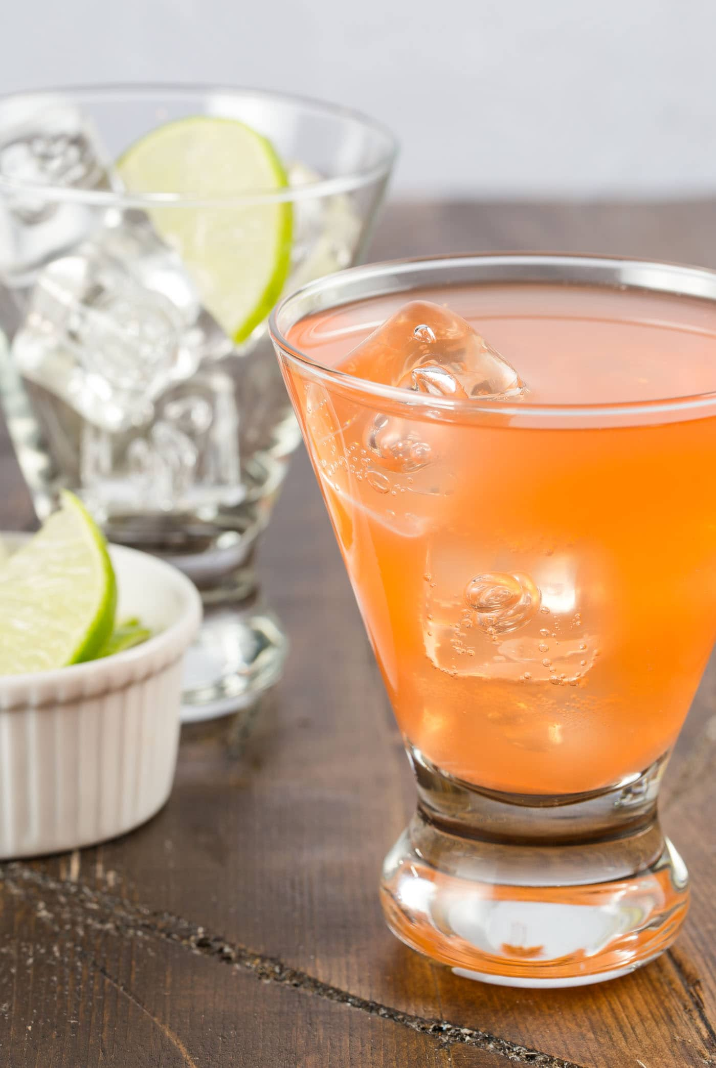 Looking for a fun cocktail to serve this spring? If you are a gin lover, this cocktail is for you! The Aperol Gin Cocktail is a refreshing drink filled with gin, cucumber and lime.