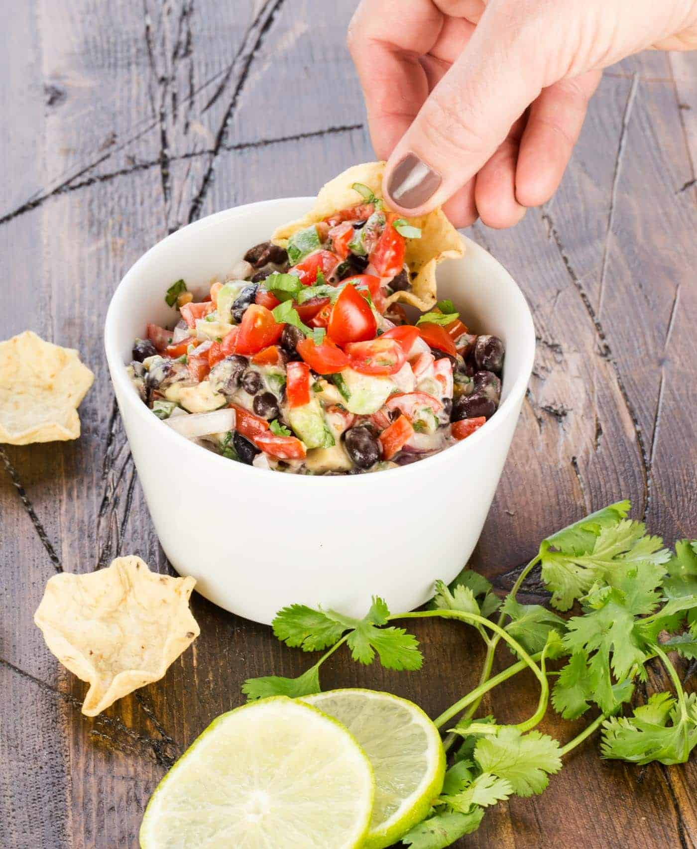 Add something new to the menu of your next summer soiree with this Fresh Southwest Salsa, a simple and crowd-pleasing appetizer that combines the season's best produce with the tangy and fresh flavors of the Southwest.