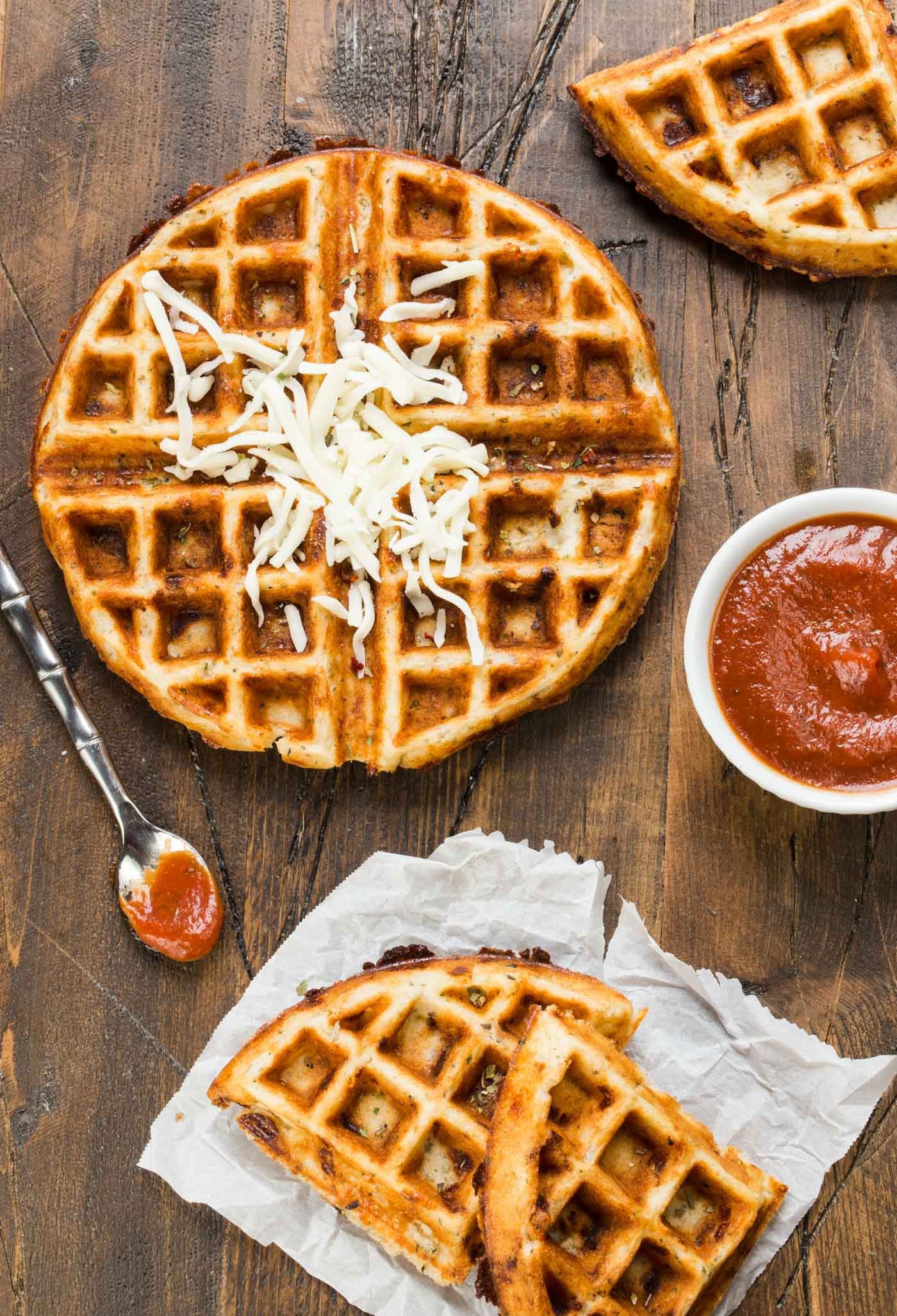 Dip these Pizza Waffle Bites in warm pizza sauce for a fun snack idea. Check out the rest of our suggestions for Smart Summer Snacks for Kids!