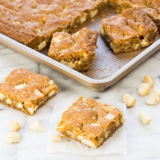 White Chocolate Macadamia Nut Cookie Bars (1 of 2)