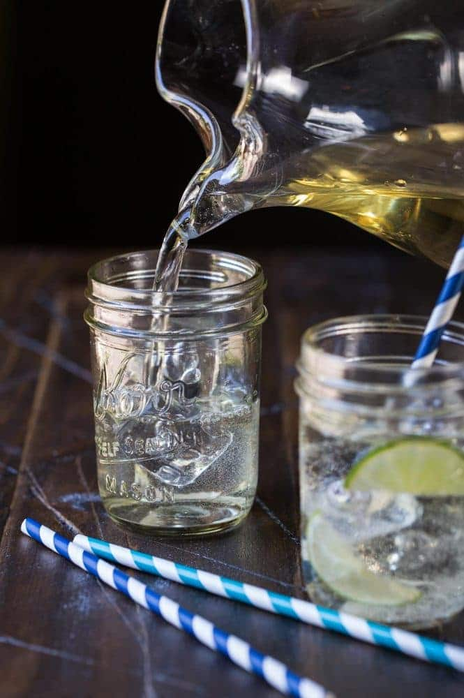 Crisp and clean, Elderflower Wine Cocktails are the perfect batch cocktail for summer parties!