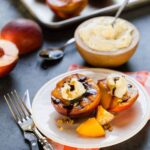 Grilled Peaches with Mascarpone, Pistachios and Balsamic Glaze 2016 (2 of 2)