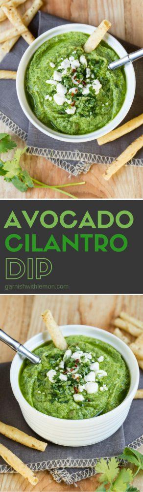 Easy Avocado Cilantro Dip is just what your menu needs!