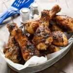 Revamp your tailgating menu with these easy and delicious Beer Marinated Chicken Drumsticks and watch them disappear!