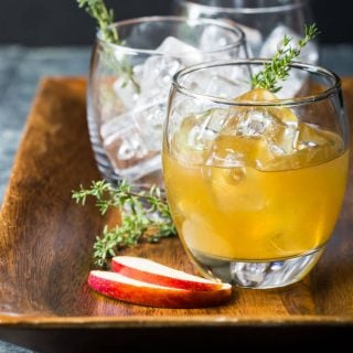 Bourbon Apple Cider Cocktails