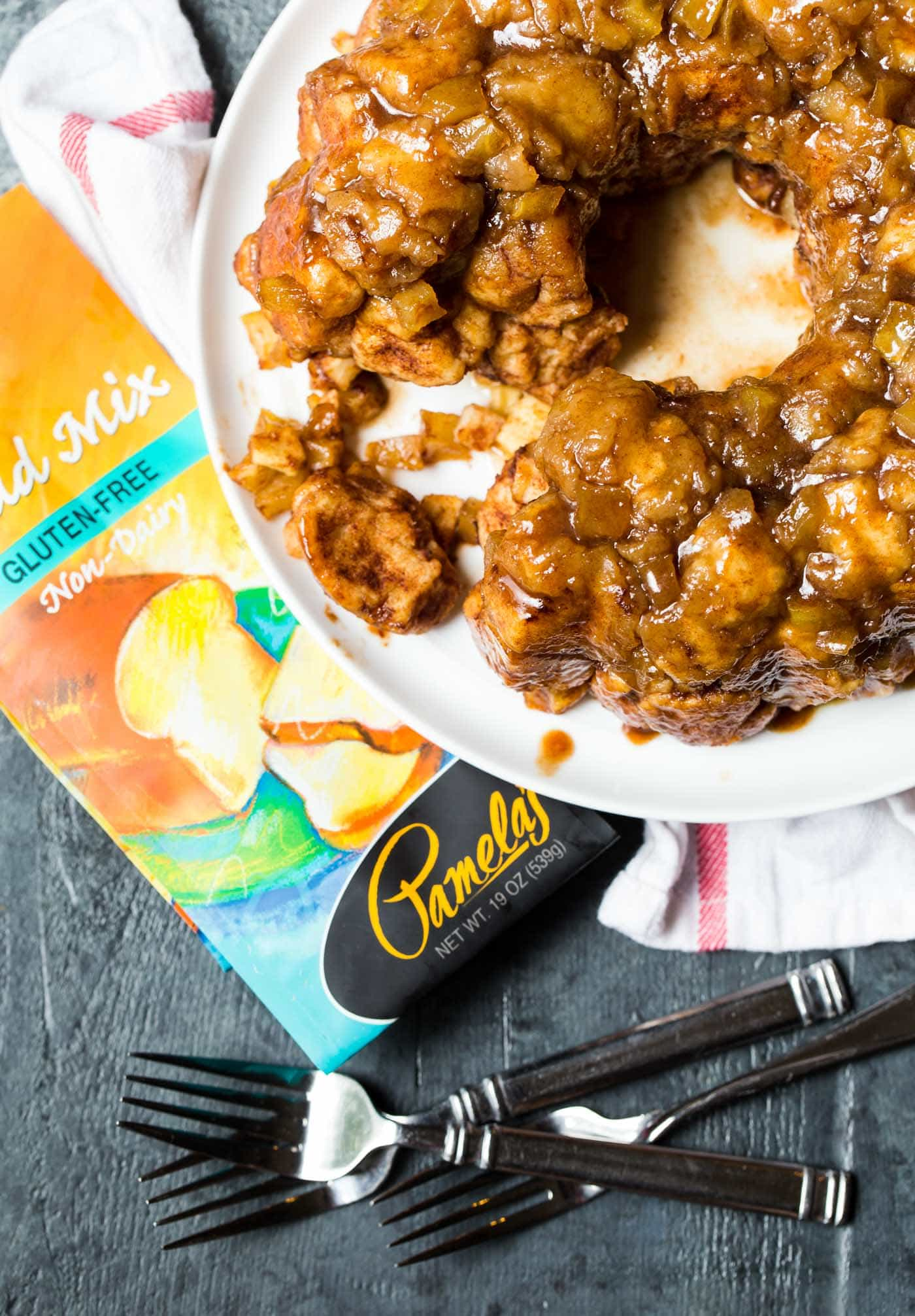 Don't be intimidated by gluten-free baking. This reliable recipe for Gluten-Free Caramel Apple Monkey Bread tastes as amazing as it looks!