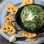 Goat Cheese, Basil & Vidalia Onion Cheese Ball (2 of 2)