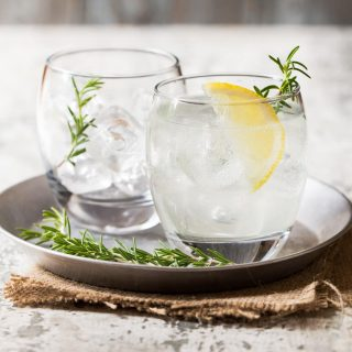 Rosemary Gin Spritzer