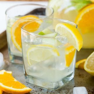 Easy Sangria Lemonade is a refreshing cocktail that is a great addition to your next party menu.