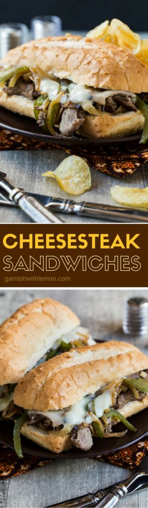 Yes, you can make excellent Cheesesteak Sandwiches at home. This recipe is perfect for game day!