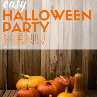 Easy Halloween Party Menu