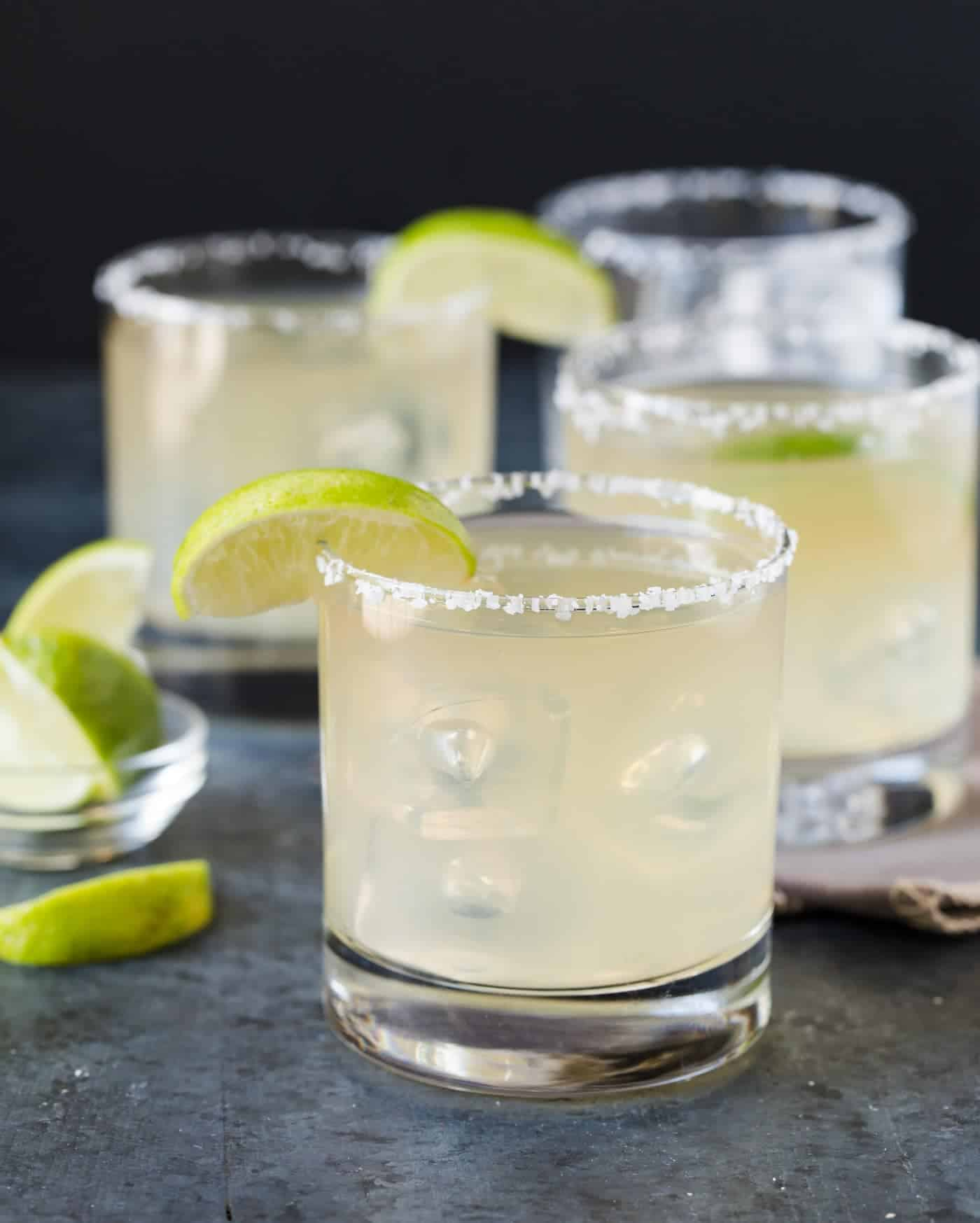 This Golden Margarita hails straight from one of our favorite resorts in Mexico. Authentic, delicious and easy to multiply as a batch cocktail!