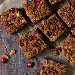Gluten-Free Cranberry Nut Coffee Cake