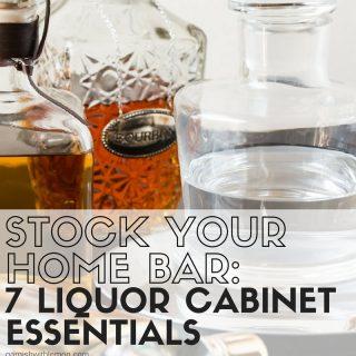 Stock Your Home Bar: 7 Liquor Cabinet Essentials