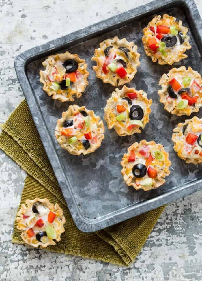 Crispy Italian Ranch Cups are the perfect bite sized appetizer for any party. Make them and watch them disappear.