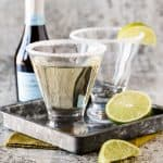 This Gin, Elderflower and Prosecco Cocktail is sure to make any gathering festive!