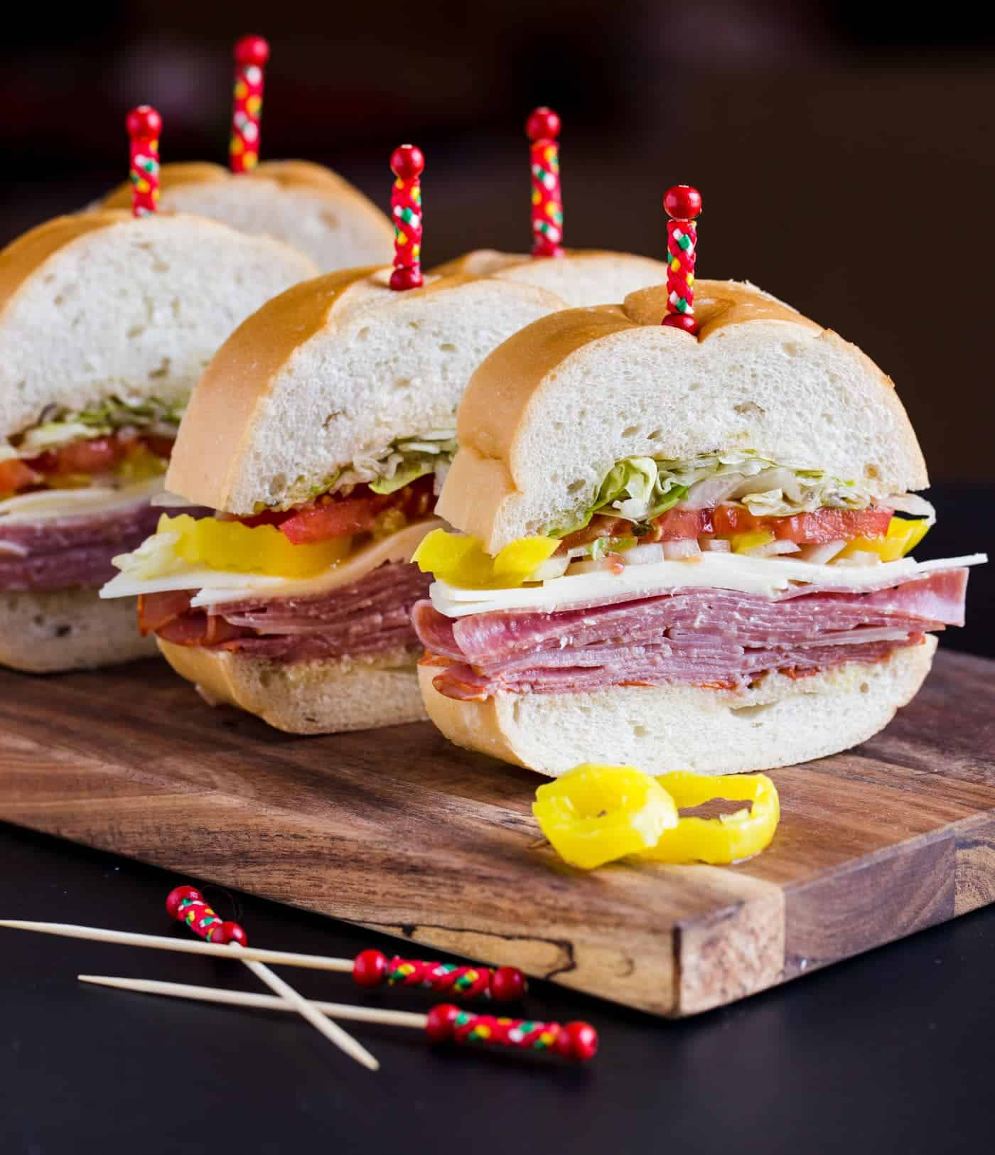 Feed a crowd with this easy Italian Party Sub recipe!
